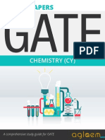 GATE Solved Question Papers for Chemistry [CY] by AglaSem.Com