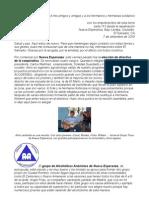 carta número 113 (07-09-2009) del Bajo Lempa/El Salvador