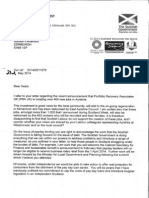 Alex Salmond Letter