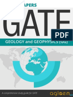 GATE Solved Question Papers for Geology and Geophysics [GG] by AglaSem.Com