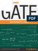 GATE Solved Question Papers for Mathematics [MA] by AglaSem.Com