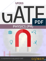 GATE Solved Question Papers for Physics [PH] by AglaSem.Com