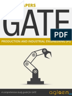 GATE Solved Question Papers for Production & Industrial Engineering [PI] by AglaSem.Com