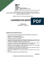 C068 - Matematica (Perfil 02) - Caderno Completo