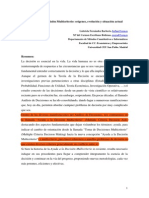 Historia Análisis Multicriterio - Fernández y Escribano