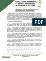 Edital Gde-ufma Publicado