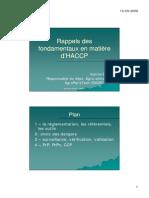 Rappel Des Fondamentaux de L_HACCP