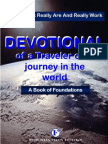 Devotional of a Traveler on a Journey--edited
