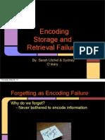 encoding storage and retrival failure utchel pdf
