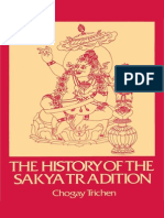 Chogay Trichen Rinpoche - The History of the Sakya Tradition