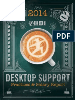 2014 HDI Desktop Support Practices & Salary Report