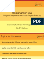 Christian Hiss, Regionalwert AG