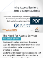 Autistic Self Advocacy Network Webinar with Autism NOW May 29 2014