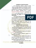 Consejero Morelos Sentencia de AI