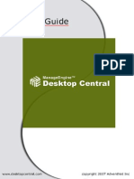 Desktop Central User Guide