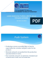 Pull System and Kanban