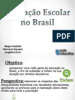 Educação Escolar No Brasil Fundo Simples