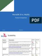 MariaDB 10 vs MySQL Feature Comparison - SkySQL