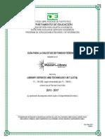 Guia Para La Solicitud de Fondos Lsta 2013-2017 PDF