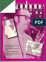 Warne Marsh Interview (Saxophone Journal)