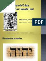 El Misterio de YHWH
