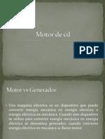 Motor de cd