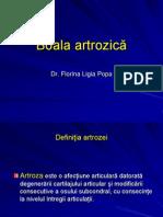 Boala artrozica