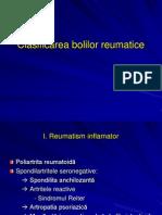 Clasificarea bolilor reumatice