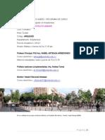 Programa Ciudad Proyecto Urbano 2014-1