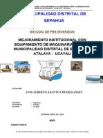 Perfil Maqu - Sepahua -2012