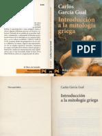 Literatura - Carlos Garcia Gual, Introduccion a La Mitologia Griega
