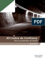 ATI Indice de Confiance 3eme Edition Avril 2012