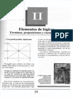Nuevo Curso de Lógica y Filosofía - Guillermo A. Obiols - Capítulo II - Elementos de lógica