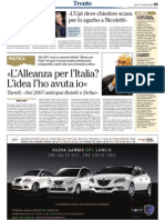 «L'Alleanza per l'Italia? L'idea l'ho avuta io» -  Tarolli
