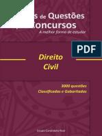 3000 QUESTÕES - Direito Civil