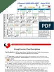 June 2014 Group Fitness Schedule