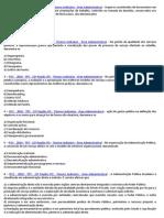 QUESTÕES SOBRE ADMINISTRAÇÃO PÚBLICA === QUESTÕES DE CONCURSOS
