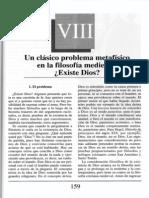 Nuevo Curso de Lógica y Filosofía - Guillermo A. Obiols - Capítulo VIII - Un clásico problema metafísico en la filosofía medieval ¿Existe Dios?