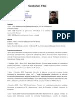 Curriculum Vitae de Oihan Rodriguez