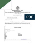 UNL-Formulario de Inscripción a Las Becas de Tutoría Convocatoria 2014.PDF
