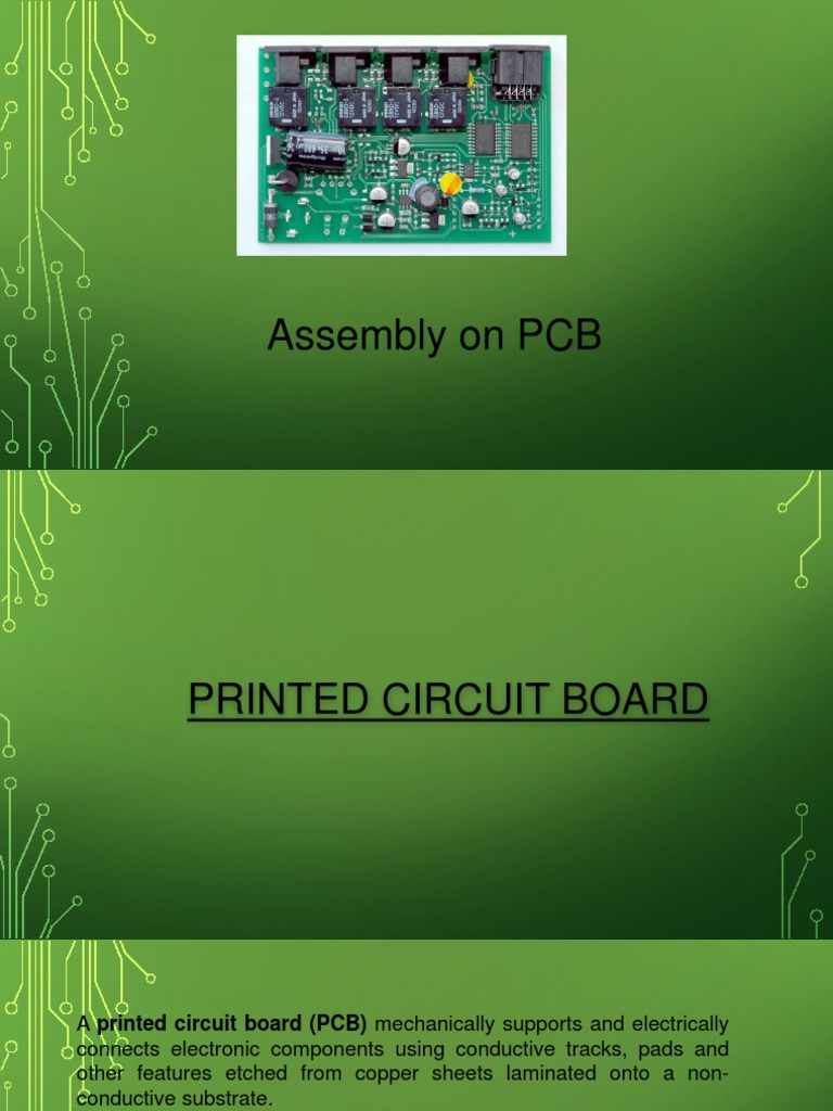Pcb Assembly Printed Circuit Board Production And Manufacturing What Is The Name Of