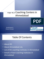 Top IES Coaching Centers in Ahmedabad