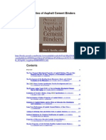 Physical Properties of Asphalt Cement Binders