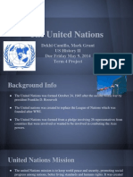 united nations and the legacy of wwii