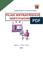 Plan Estratégico de La i.e. Dora Mayer