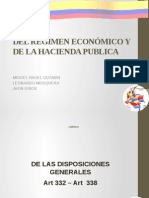 Regimen Economico y Hacienda Publica