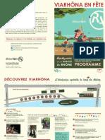 Programme via Rhona 2014 Lyon