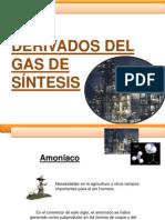 Capitulo 6 Derivados Del Gas de Sintesis