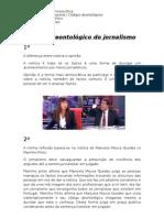 Código deontológico do jornalismo