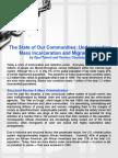 Understanding Mass Incarceration and Mass Detention
